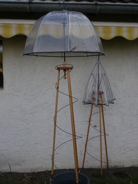 Rankturm -Regenschirm